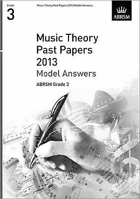 ABRSM Music Theory Past Papers 2013 Model Answers Grade 3 Exam Book S130
