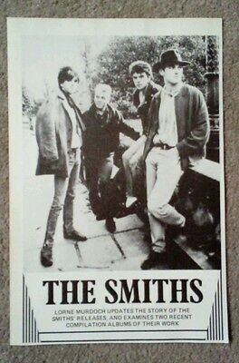 """THE SMITHS - ORIGINAL + RARE PICTURE Approx. 8"""" by 5"""""""