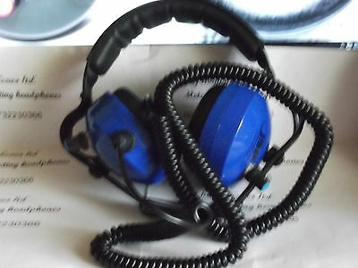 metal detector headphones 32 OHMS in STEREO