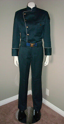 Battlestar Galactica Blood and Chrome Female Duty Blues Uniform Screen Worn