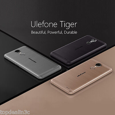 5.5'' Ulefone Tiger Móvil Libre Android6.0 2+16GB 13+8MP Touch IDs Smartphone ES