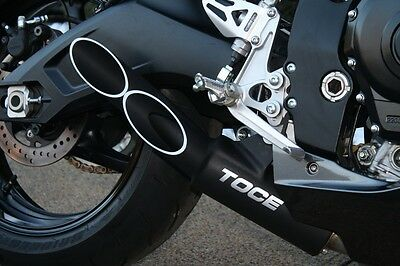 Toce™ 2006-2007 Suzuki Gsxr 600/750 Double Down Slip-On Exhaust