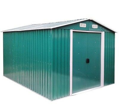 Garden Metal Storage Shed Outdoor Tool Box Large Patio Cabinet