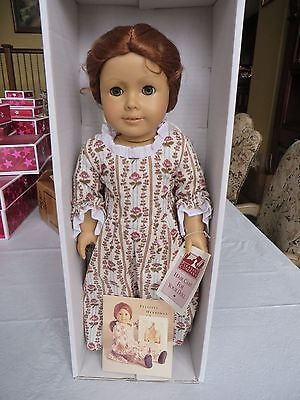 American Girl Pleasant Co Felicity 1993 Brand New In Maroon Box With Band Rare