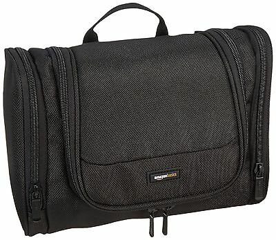 AmazonBasics Hanging Toiletry Kit Black