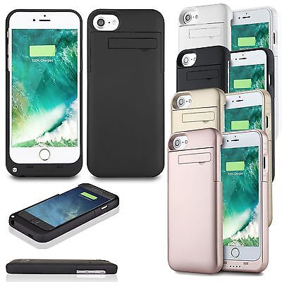 4800mAh Battery Case External Power Charger Charging Cover For iPhone 7 7 Plus