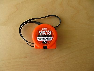 Metric Tape Measure 2m x 13mm with white steel tape