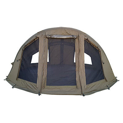 ABODE Air Inflatable 1 or 2 Man Camper Bivvy Dome Carp Fishing Shelter