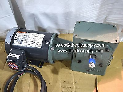 Emerson Electric Motor Gearbox 1HP 148RPM Hytrol 4A Reducer Gear Head Conveyor