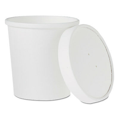 Flexstyle Double Poly Food Combo Pack, 16 Oz, White, 25/pack, 10 Packs/carton