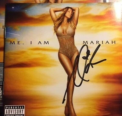 Mariah Carey Official Autographed Signed Elusive Chanteuse Cd Booklet Rare
