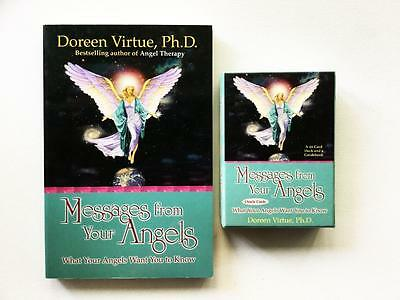 Messages From Your Angels Oracle Cards And Book Set By Doreen Virtue