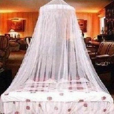 Elegant  Round Lace Curtain Dome Bed Canopy Netting Princess Kids Mosquito Nets