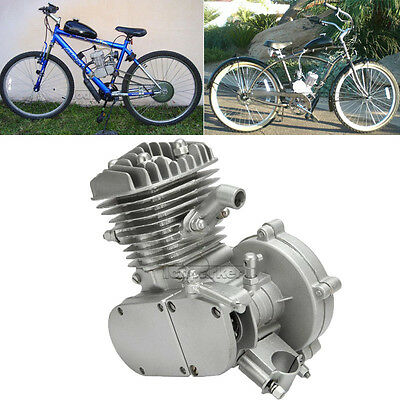 MOTORCYCLE 80cc 2 Stroke Engine Motor FOR Motorized Bicycle Mountain Bikes NEW