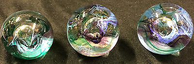 Vintage Glass Paperweight - Small Glass Ornament – 1 Available
