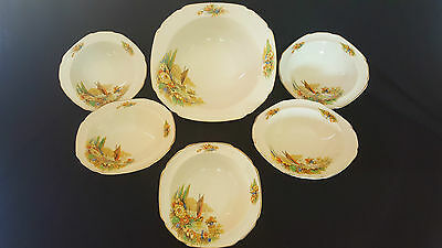 John Maddock & Sons Ltd Bowl set, made in England.