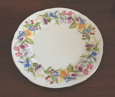ANTIQUE -SHELLEY SIDE PLATE MADE IN ENGLAND - Antique Bouquet 3651