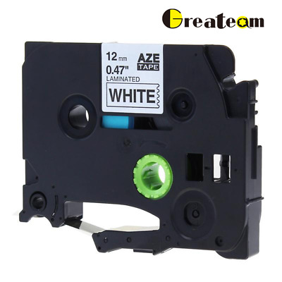P-touch Label Tape Compatible for Brother Laminated TZ-231 TZe-231 12 mm Ribbon