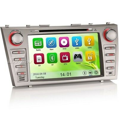 "8"" Sydney Car DVD GPS Audio Player Radio 3G BT For TOYOTA CAMRY AURION 7668AS"
