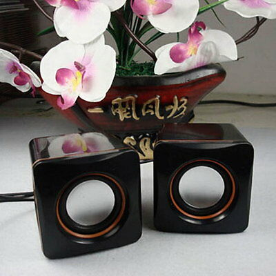 Mini USB Audio Music Player Speaker for iPhone For iPad MP3 Laptop PC SI