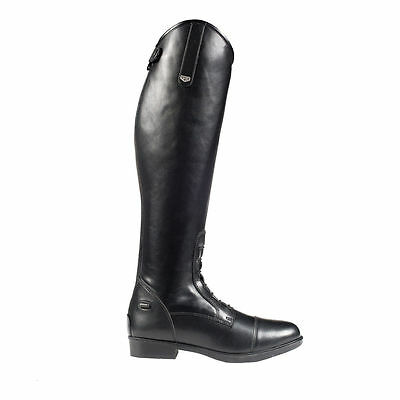 Horze Rover Field Tall Black Riding Boots - Regular or Wide Fit - Sizes 4 - 8