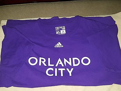 Orlando City FC MLS Soccer Adidas Official T-Shirts Men's XL Extra Large Kaka