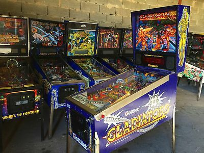 Flipper Gottlieb 1993 GLADIATORS - USED - Perfect Working Condition Pinball