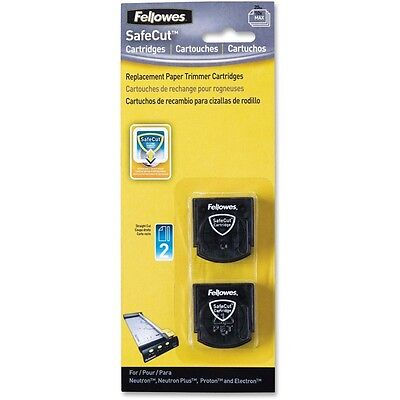 Fellowes SafeCut Rotary Trimmer Blades - 2Pk Straight - Straight Style -...