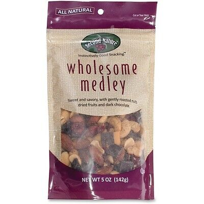 Second Nature Wholesome Medley Snack Blend - Sodium-free, Cholesterol-free -...