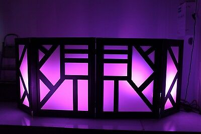 DJ FACADE/LED/BOOTH - Deco (Black)  by Dragon Frontboards
