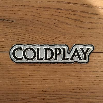 Coldplay Band Sew On Embroidered Official Patch New Rare