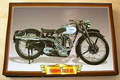 Triumph Tiger 80 350 Single Vintage Classic Motorcycle Bike 1930's Picture 1937
