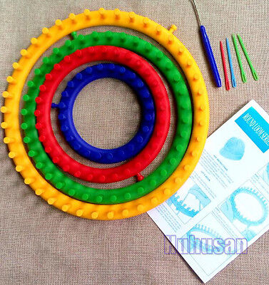 Circular Knitting Looms Round Loom Accessories For Baby Blankets Socks Hat