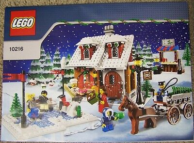 NEW INSTRUCTIONS ONLY LEGO WINTER VILLAGE BAKERY 10216 Xmas Holiday from set