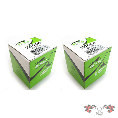 2670-440 QUANTITY OF TWO  Arctic Cat Snowmobile OEM Oil Filters - 2007-2017