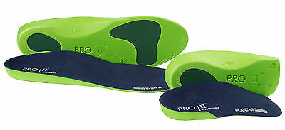 Orthopedic insoles  pain plantar fasciitis fallen arch 2 pair pack UK orthotic