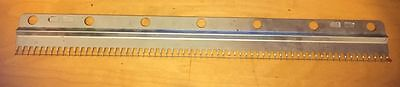 Cast-On Comb Knitting Machine All Bulky 9mm Ribber Brother