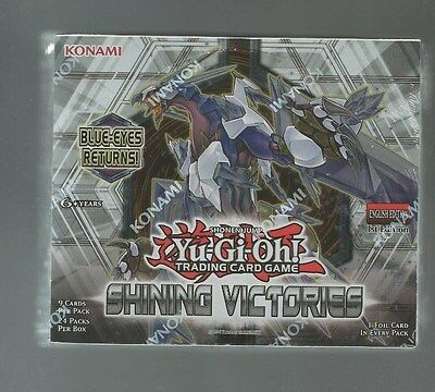 Yu-Gi-Oh Shining Victories 1st Edition U.S English SEALED Booster Box Yugioh