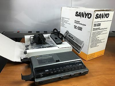 Sanyo TRC-6300 Microcassette Dictating/Transcribing System