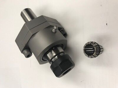 NEW ROTARY / WOBBLE BROACH TOOL HOLDER CENTER ADJUSTABLE  uses ER20 COLLET