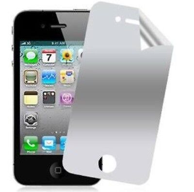 1 Mirror Screen protectors for iPhone 4g 4s