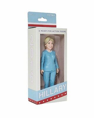 Hillary Rodham Clinton 2016 Presidential Campaign Ready For Action Figure Doll