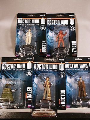 Doctor Who Official BBC Collector Figures 1:21 Statues 11 Characters to Choose