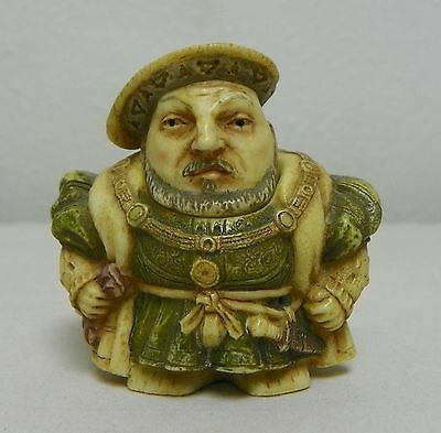 Harmony Pot Bellys Historical Miniature HENRY VIII 2001 Box/Papers