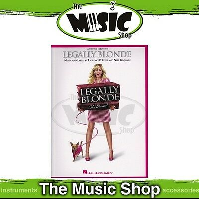 New Legally Blonde The Musical Music Book - Easy Piano Selections