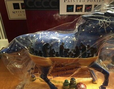 GOLD, FRANKINCENSE AND MYRRH, Trail Of Painted Ponies, 1E7587,NEW Resin Figurine
