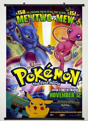 Pokemon: The First Movie Original D/S 1 Sheet Rolled Movie Poster