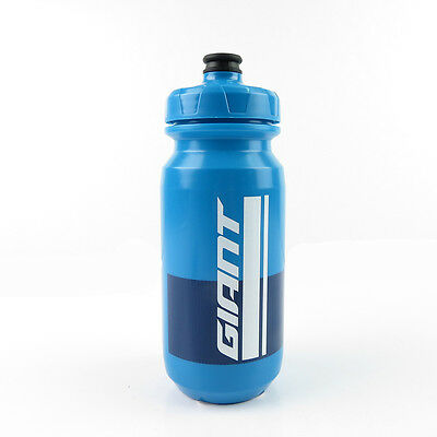 Giant 480000164 PourFast Double Spring Bike Cycling Water Bottle 600ml - Blue
