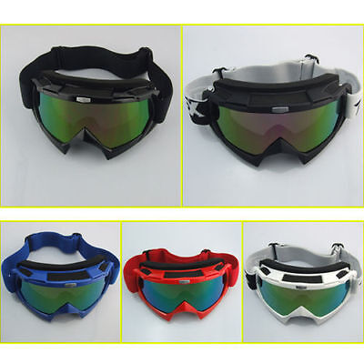 Moto Lunettes Scooter Vélo Motocross Enduro Protection Adulte Casque Goggles