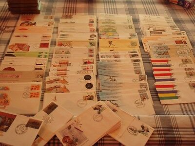 FDC PSE Massive Mix Australia Cancellation Sets (incomplete)  Envelopes